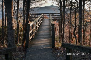 To Blue Ridge Overlook